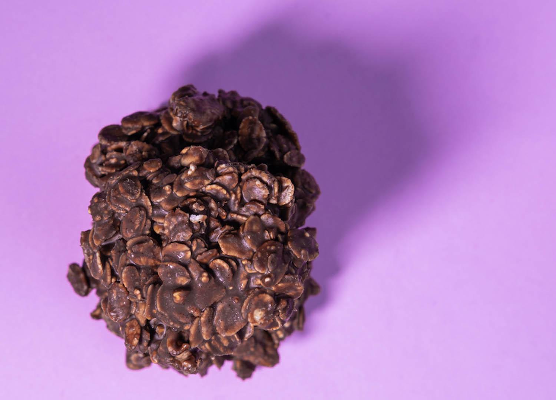 No-bake Chocolate, Oat & Coconut Cookies